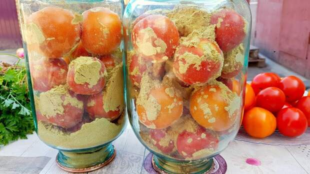 Свежие помидоры на зиму без воды, уксуса и соли. Так вы еще не заготавливали!