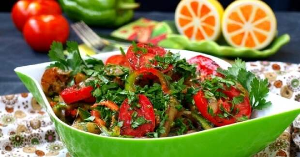 Баклажаны по-армянски: незаменимая закуска к шашлыку и другому мясу