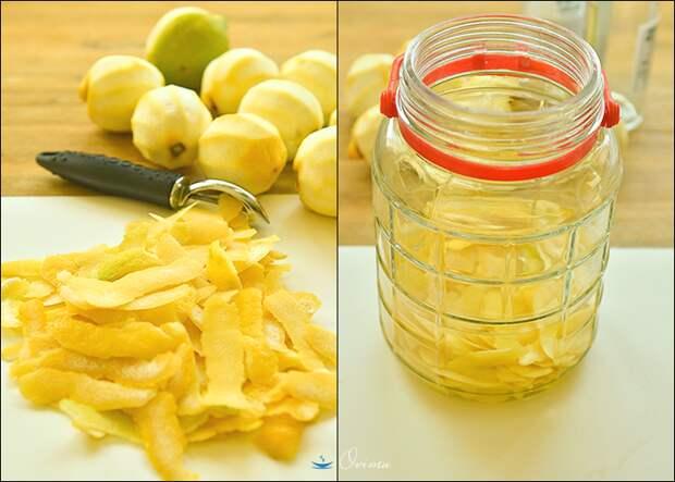 Итальянская кухня. Ликер Лимончелло