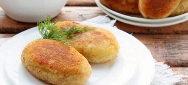 Пирожки с картошкой и капустой в духовке
