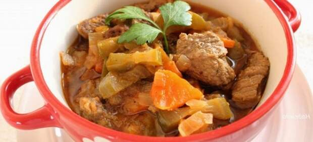 Рецепт азу по-татарски из свинины