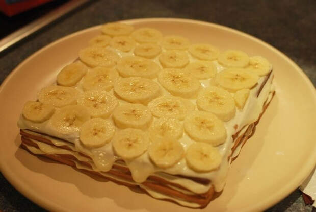 Топ-10 безумно вкусных десертов с бананами