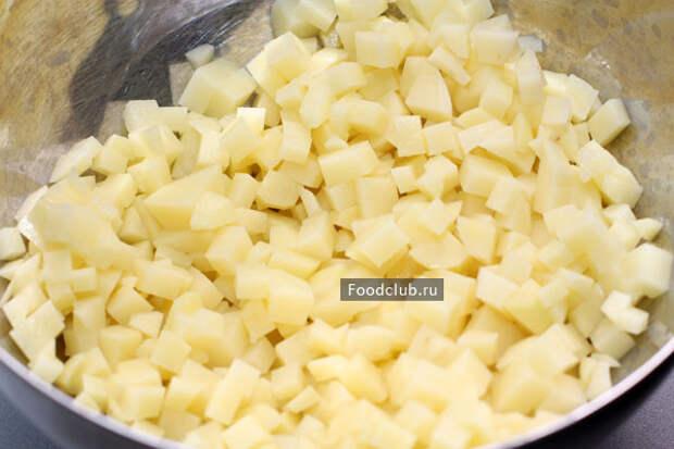 Плацинды с картошкой (этап 3)