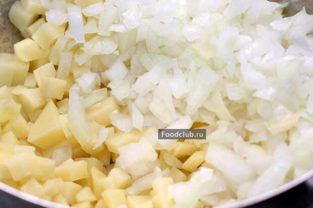 Плацинды с картошкой (этап 4)