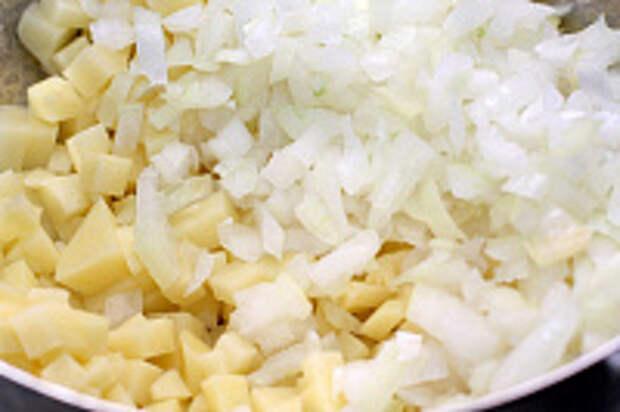 Плацинды с картошкой