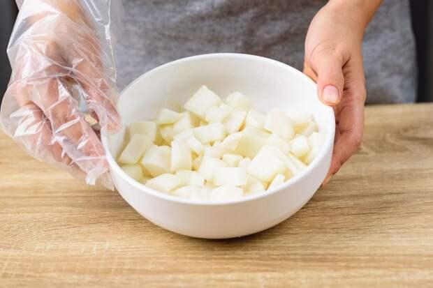 Кимчи из редьки (дайкона)