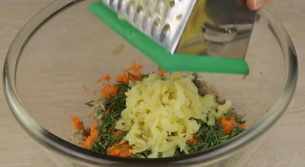 Простые и быстрые гречаники с картошкой