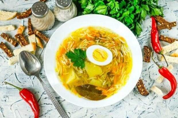 15 сытных и вкусных супов с вермишелью