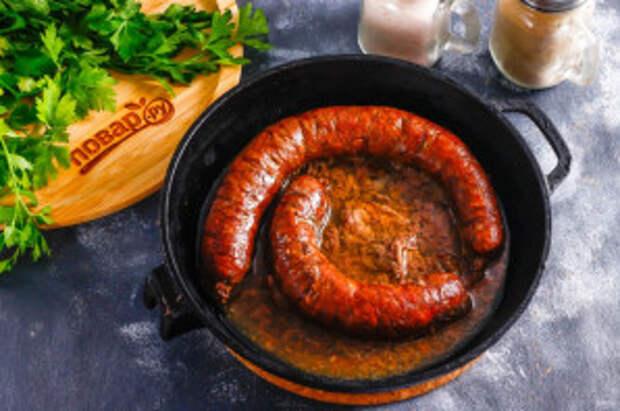 Ливерная колбаса из куриных потрохов - фото шаг 6