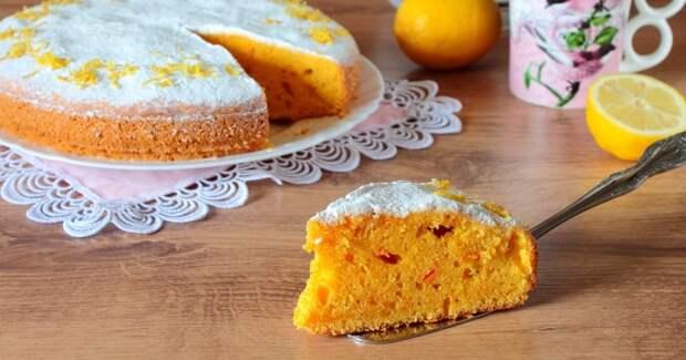 Морковный пирог - бесподобное лакомство для диеты и не только!