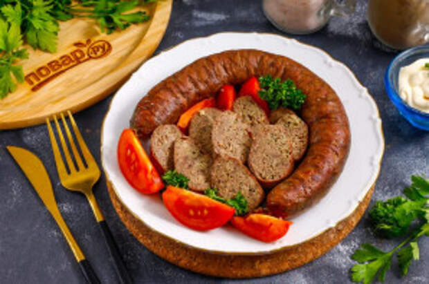 Ливерная колбаса из куриных потрохов - фото шаг 7