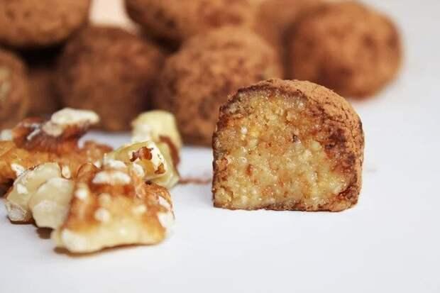 Конфеты с грецким орехом