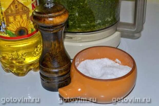 Укропный соус, Шаг 05