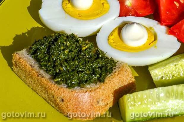 Укропный соус. Фотография рецепта