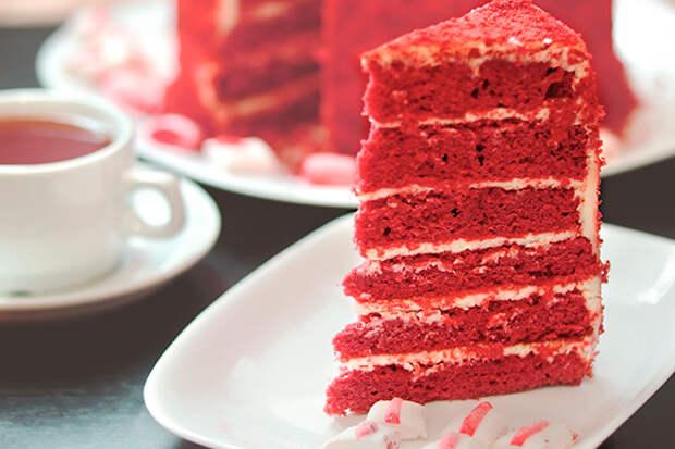 Секреты приготовления торта «Красный бархат»