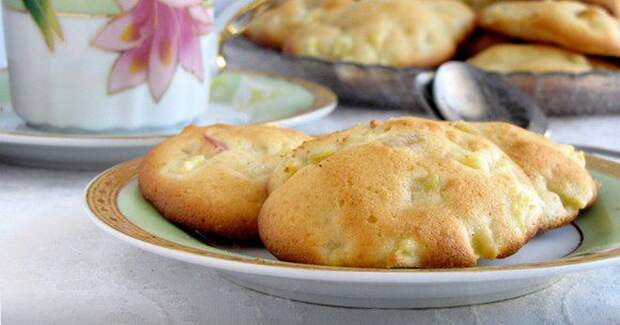 Печенье с яблоками – простые и очень вкусные рецепты домашней выпечки