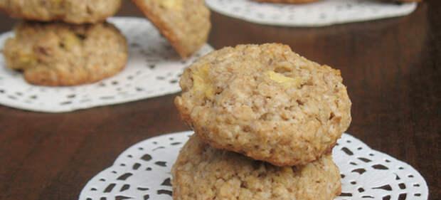 овсяное печенье с яблоком рецепт