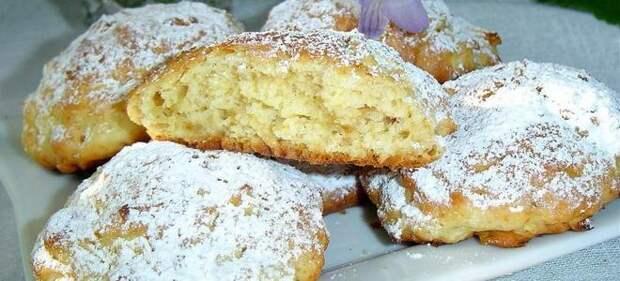 песочное печенье с яблоками рецепт