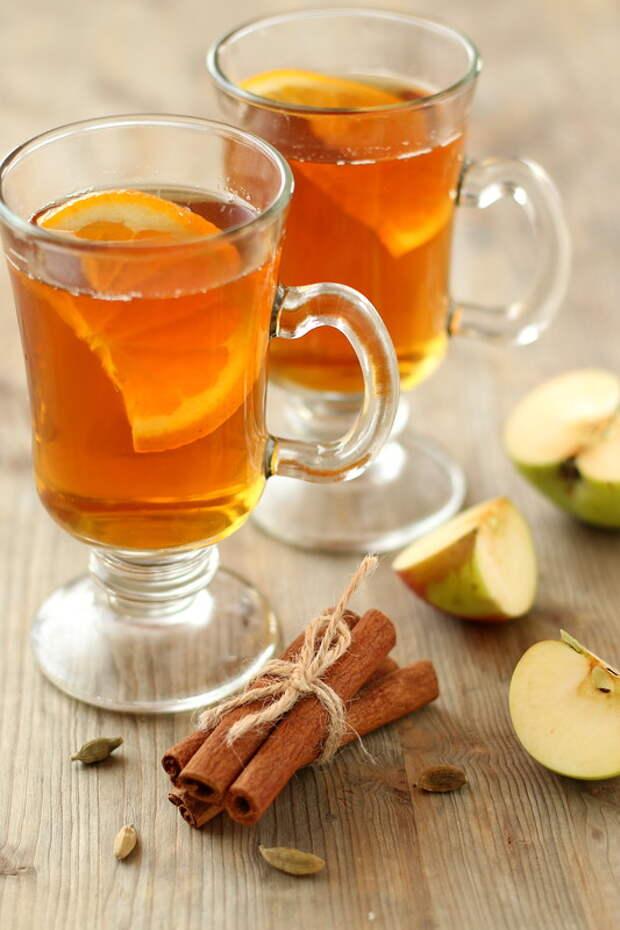 Безалкогольный яблочный глинтвейн