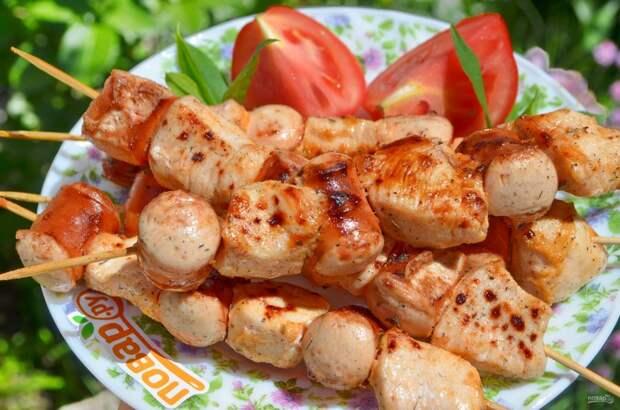 6 рецептов шашлыка из курицы для любителей постного мяса