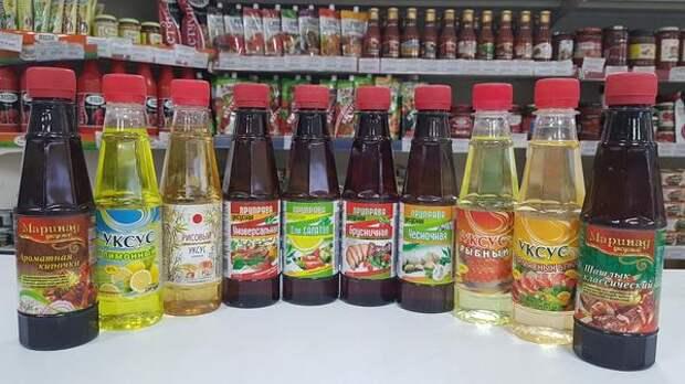 Далеко не всякий покупной уксус можно назвать натуральным. Фото с сайта usolyesalttrade.ru