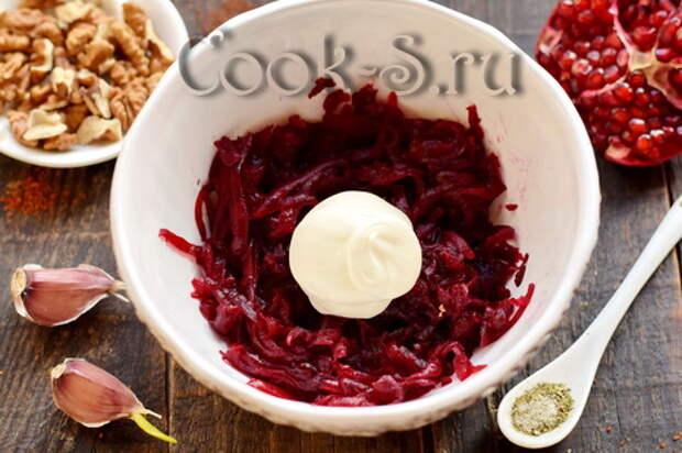 Грузинский свекольный салат – вроде бы обычная свекла, но получается бесподобно вкусно