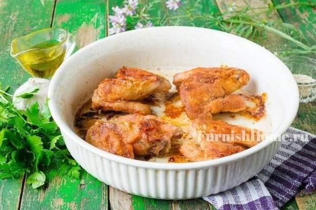 Маринад для куриных крылышек