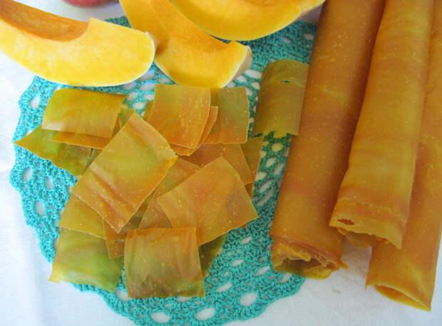 Пастила из тыквы: восточный десерт в домашних условиях