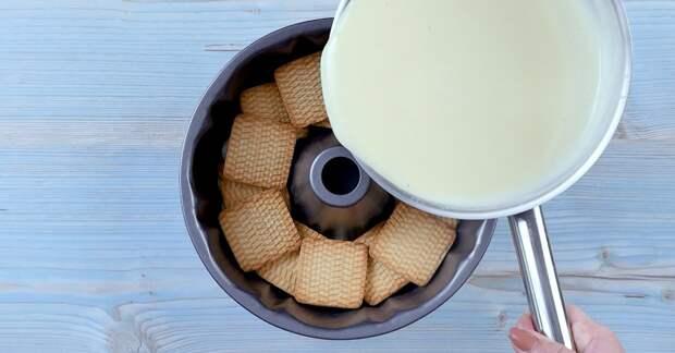 Как приготовить торты-пудинги без выпекания