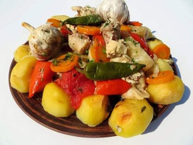 Как меня узбеки научили готовить свое блюдо в духовке. Басма в духовке