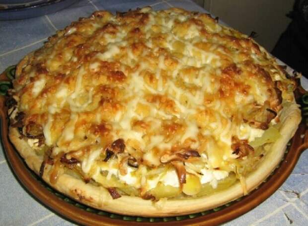 Картофельный киш: «Царское блюдо» из самых простых продуктов