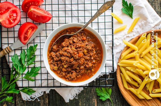 Соус Болоньезе: базовый, универсальный и самый лучший рецепт