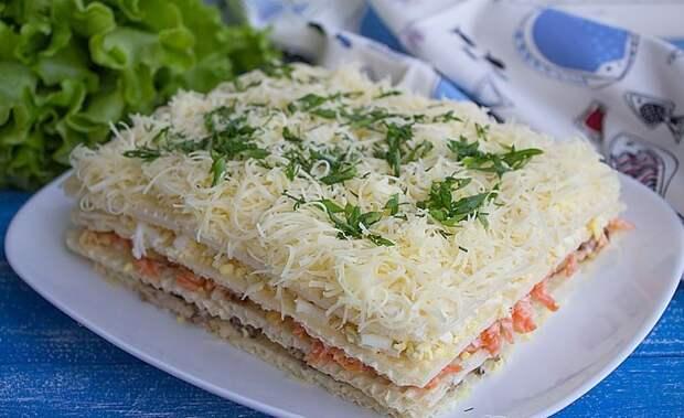 Вафельный торт. \ Фото: cookery.site.