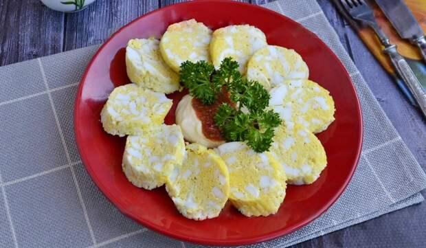 Яичная колбаса