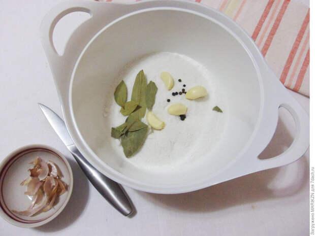Соленое сало в тузлуке - вкусное, как у дедушки