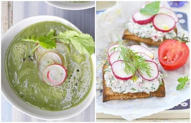 Как приготовить паштет, суп, заправку и другие блюда из редиса